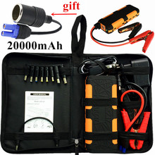 New Capacity 800A Car Jump Starter Portable 20000mAh Starting Device Power Bank 12V Car Battery Charger For Deisel Petrol Buster