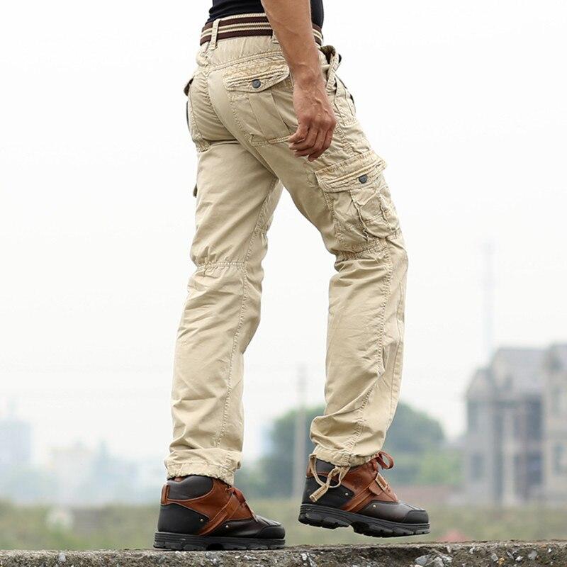 New Sweatpants Men's Casual Cargo Pants Cotton Emoji ...