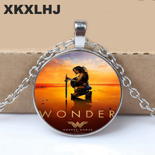 HOT! Fashion New Wonder Woman Necklace Wonder Woman Jewelry Super Hero Personalized Picture Necklace жевательные драже jelly belly super hero wonder woman 60 г