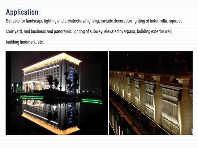 DC24v Alta Qualidade 36 w 3-em-1 45 w Edison LED RGB Wallwasher Iluminação IP65 1 m linear Lâmpada de Inundação CE & ROHS 48 pçs/lote DHL Freeshiping