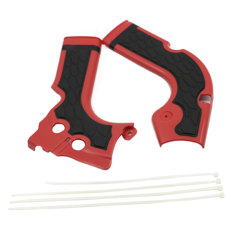 CRF250 /450 R Motorcycles Frame Guard for Honda CRF250R 2014 - <font><b>2016</b></font> / <font><b>CRF450R</b></font> 2013 - <font><b>2016</b></font> Motocross Frame Protector Guards plate image