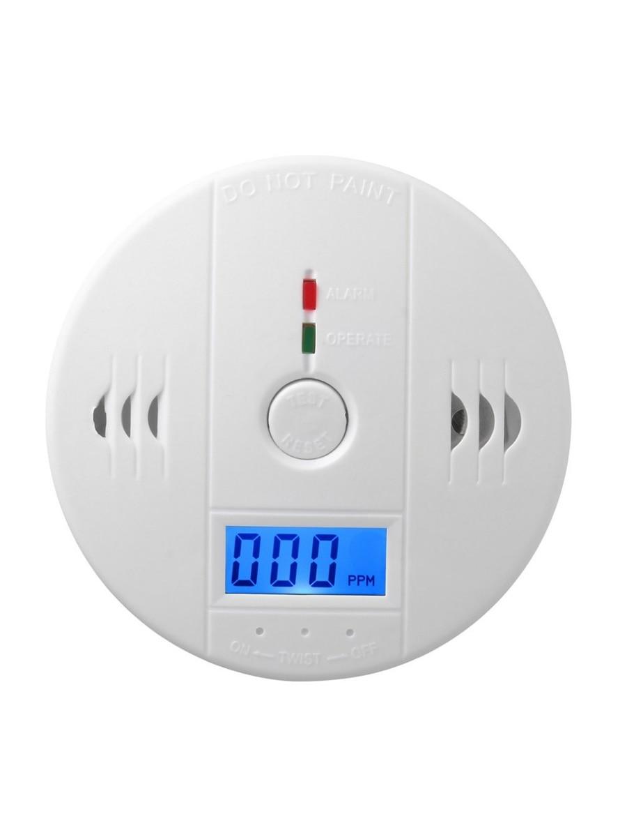 Image 5 - LUCKING DOOR 85dB LCD CO Sensor Carbon Monoxide Poisioning Detector Carbon Monoxide Alarm Detector-in Carbon Monoxide Detectors from Security & Protection