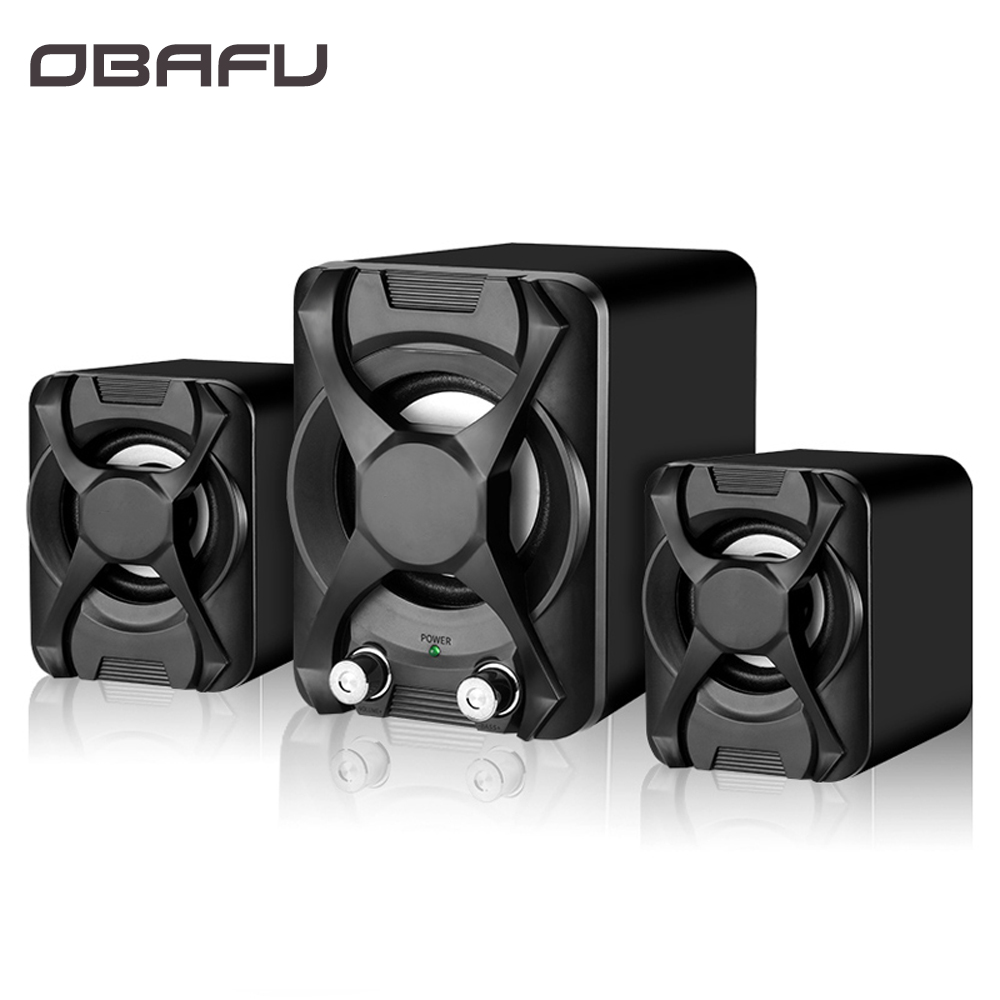 Wired Computer Speaker Subwoofer Stereo Bass Usb 2.1 Speaker 3d Atmosphere Pc Portable Speakers For Laptop Notebook Computer With The Most Up-To-Date Equipment And Techniques