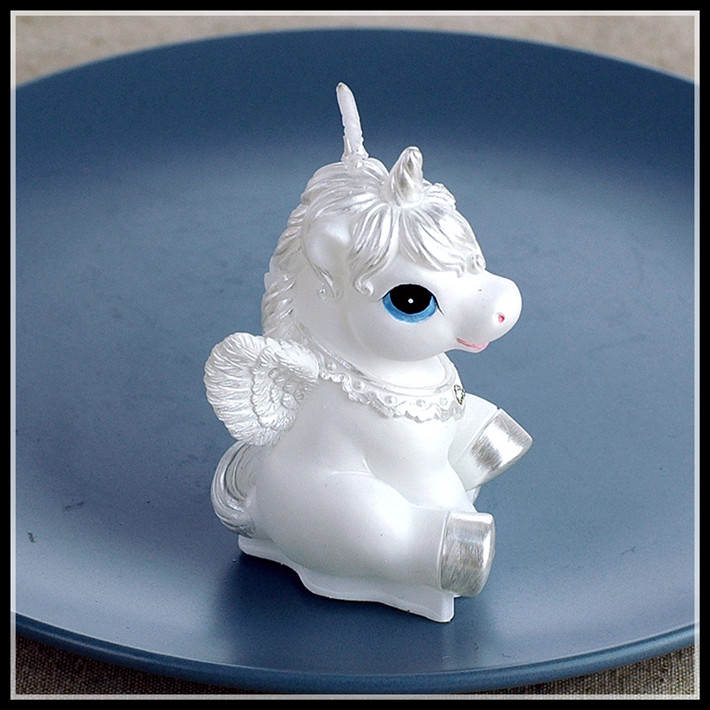 Child Party Supplies Birthday Candle Small Candles Lovely Horse Candle Home Decoration Valentine Party Cake Horse Candle