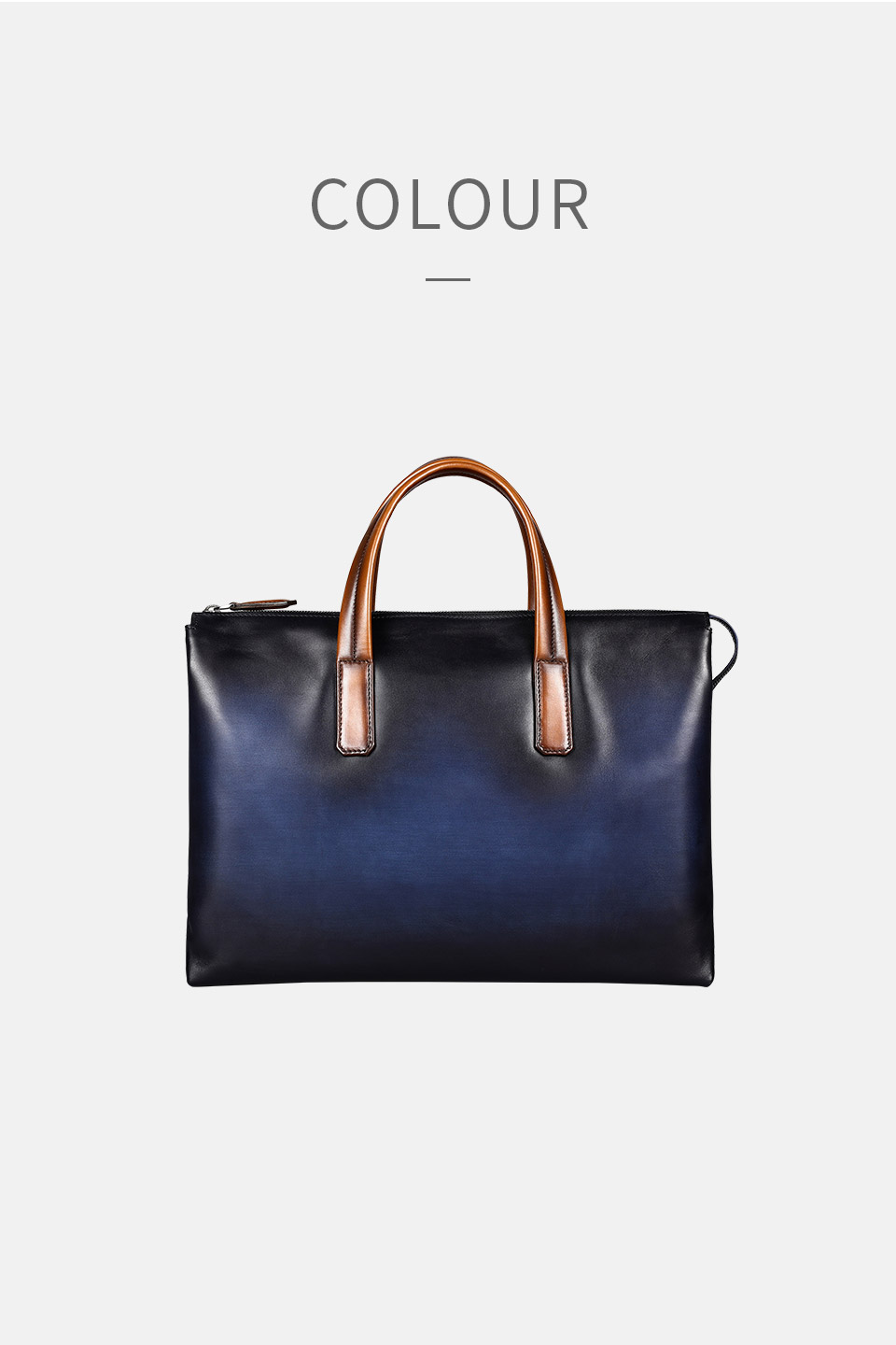eaeee00803 DIMY Handmade Italian Genuine Leather Briefcase Men Business Case OL Style  Hand Patina Messenger Shoulder Bags Laptop Men s Bags