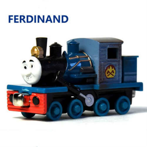 Ferdinand--die Cast Trains Magnetic Connector Magnetic Tails The Tank Engine Trains Kids Toy For Children Toys & Hobbies