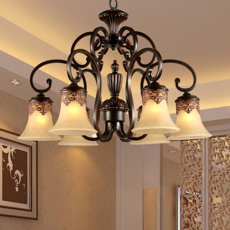 buy fashion iron lamps resin lighting