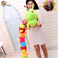 50 to 60cm Baby Toys Colorful Caterpillars Millennium Bug Doll Plush Toys Kids Large Caterpillar Hold Pillow Doll toys for Child