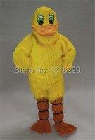 Талисман желтый костюм талисмана длинные плюшевые утка пользовательские необычные костюмы для косплея стиль mascotte карнавальный костюм