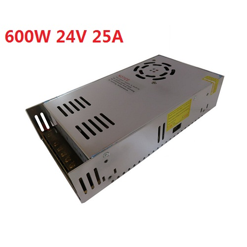 Single Output Switching Power Supply DC 24V 25A 600W Transformers 110V 220V AC TO DC SMPS for LED Strip Lamp Light