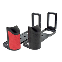 GFX50R Vertical shoot Quick Release L Plate/Bracket hand Grip Holder for Fujifilm Fuji GFX 50R Camera ballhead Tripod