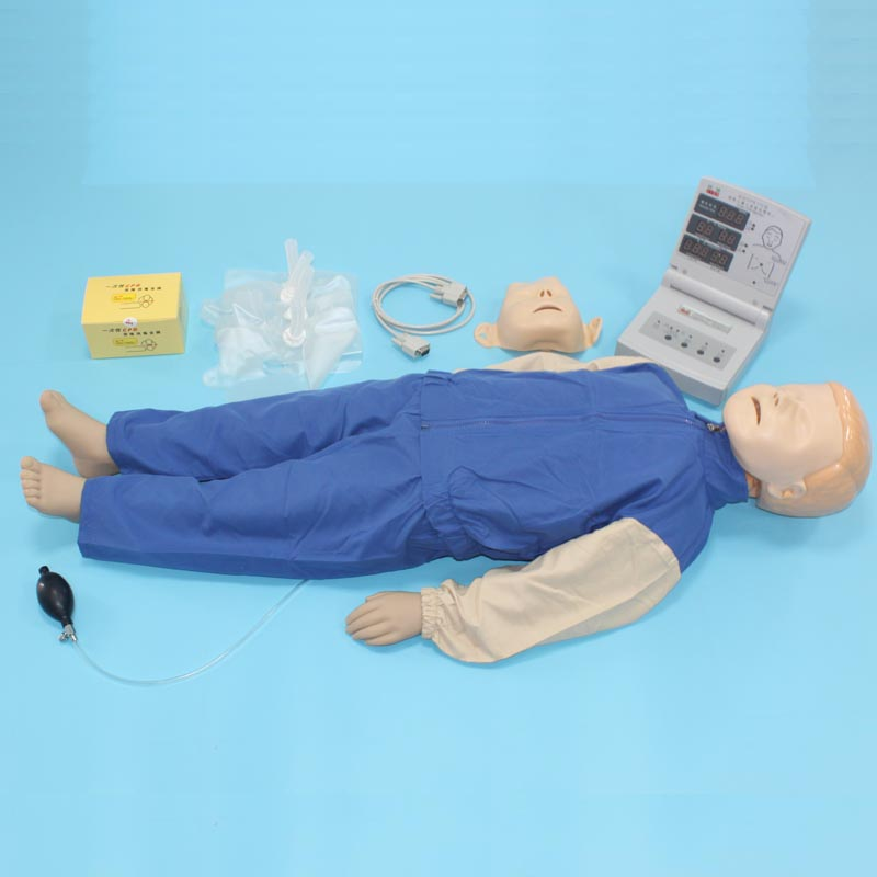BIX/CPR170 Advanced Child CPR Medical Training Manikin WBW105 bix h2400 advanced full function nursing training manikin with blood pressure measure w194