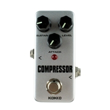 KOKKO High Quality FCP-2 Compressor Guitar Effect Pedal Mini Electric Bass Guitar Effects Ture Bypass Guitar Parts Accessories kokko kw 1 guitarra pedal high quality guitar accessories vol wah guitar pedal for guitar lovers