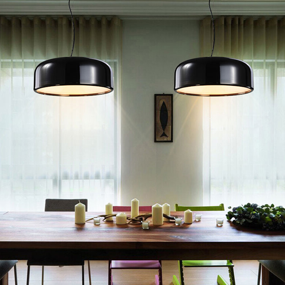 цена на Modern Pendant Lights Lamparas Luminaire kitchen Dining Room Lights retro vintage Pendant Lamp giving Led 7w Bulb ,Free shipping