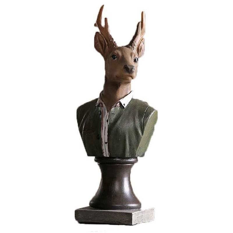 Artisanat classique résine créative décoration animale artisanat Style américain artisanat salon bricolage Figurines miniatures
