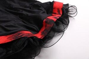 Image 5 - שחור שמלת נשפים אולם נשפים אישה בגדי ריקוד שמלת פלמנקו טנגו ואלס וינאי בנות פרינג ספרדית ללבוש שמלת ריקוד