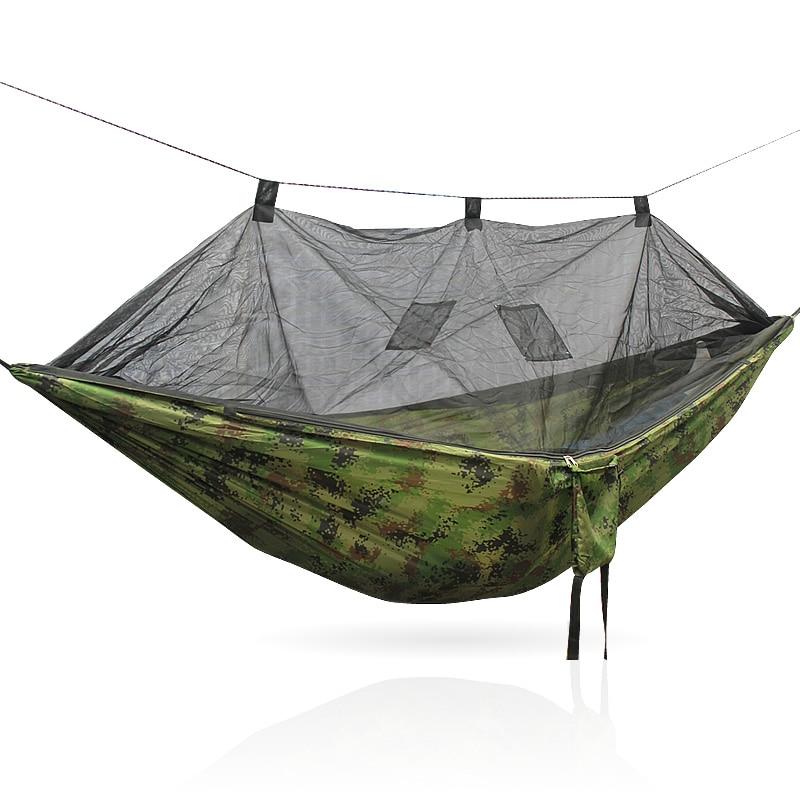 Portable Camping Hammock Hammock Mosquito Net 260 140