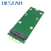 MSATA SSD For MacBook Pro Retina A1425 MD212 MD213 ME662 Adapter Card Support 256G 512G