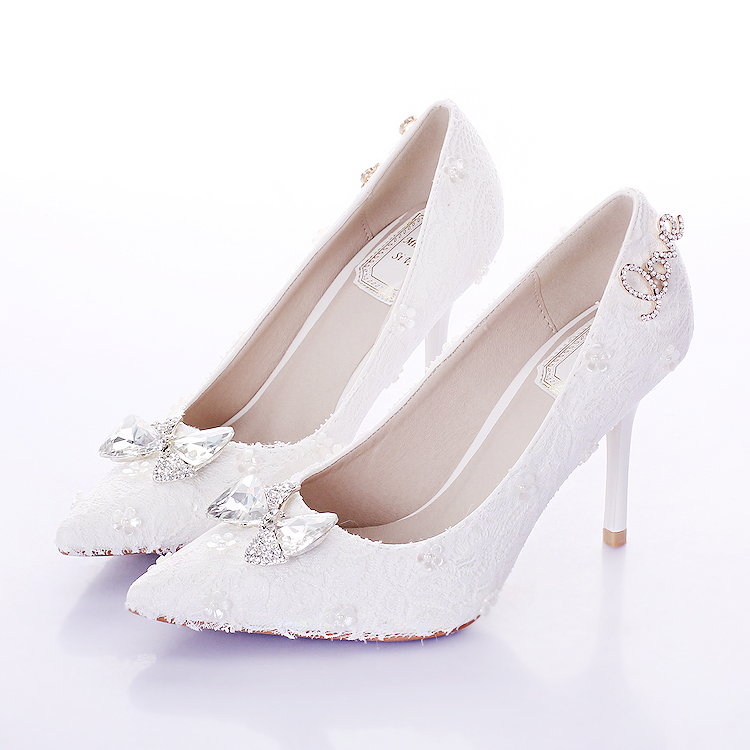 Popular White Bow Heels-Buy Cheap White Bow Heels lots from China ...