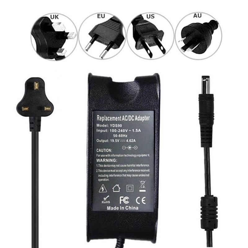 Laptop Charger Adapter para Dell Latitude 100L E4200 E5410 E6410 E6420 E6510 XT2