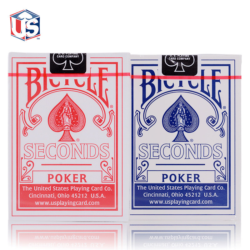 Original Second Version Poker Card Set Red/Blue Bicycle Regular Playing Cards Back Standard Sealed Decks Magic Playing Cards