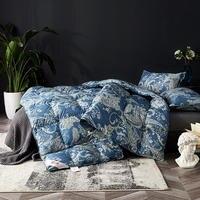 luxury winter Warm soft Comforter 95% Goose Down Quilt duvet Bedding Filler/Filling King Queen Size printed