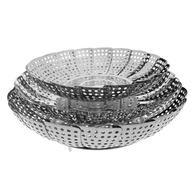Stainless steel utensils Food Steamer Non-stick
