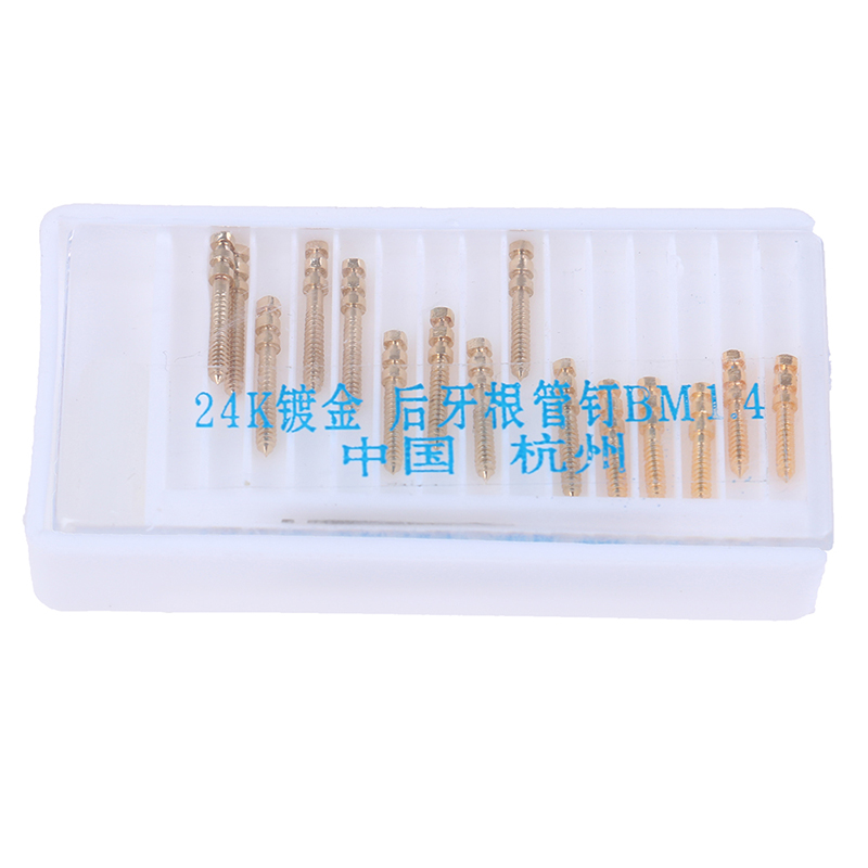 15pcs/Box Dental Materials Posterior Root Canal Refill Files Tool Nail Root Pipe New(China)