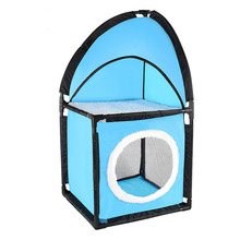 New Arrival Pet Cat Bed Play Tent Toys Activity Playing Comfortable Warm Dog House Kennel