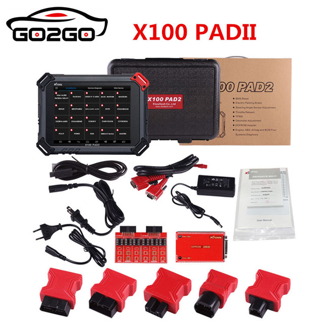 Hot Sale Original X100 PADII for XTOOL X100 PAD Better than X300 Pro3 Auto Key Programmer with Special Function DHL Free