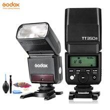 Godox TT350F Mini lampa błyskowa Speedlite do Fujifilm X T20 X T3 TTL HSS GN36 1/8000S 2.4G bezprzewodowy System / X1T F nadajnik wyzwalacza