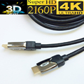 Premium 4k HDMI cable 2.0 Ulra HD 4K HDMI 2.0 cable 3D&ethernet Gold-plated,braided.triple-shielded,Metal shell 5M,1.8M