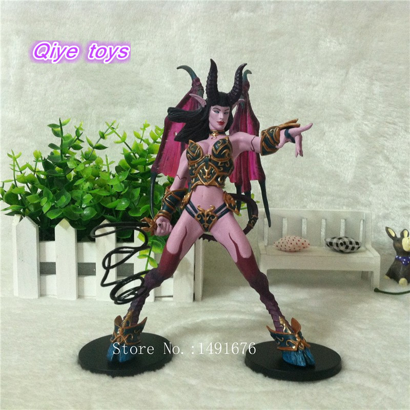 WOW Figure Toy DC Banshee / Succubus Mages 20CM PVC Action Figure Classic Toys For Boys Collection Model 1