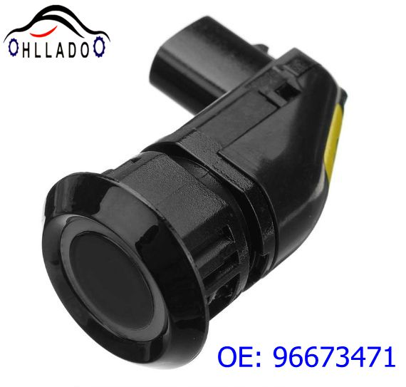 Promotion HLLADO PDC Parking Sensor 96673471 Ultrasonic Parking Reversing Radar For C hevrolet Captiva 96673467 Black Color(China)