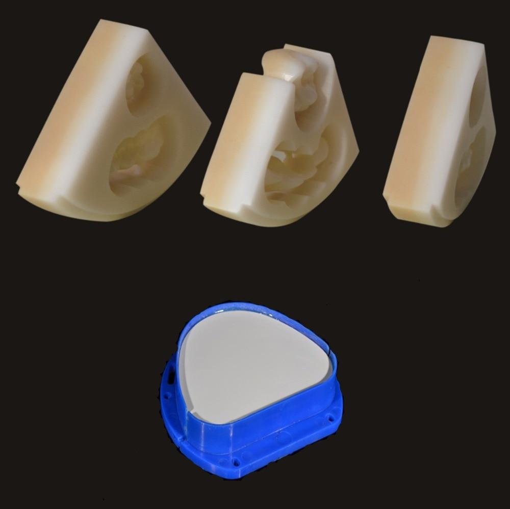 600Mpa Anterior Dental Amann Girrbach Zirconia CAD CAM Blok, tandpleje Keramisk porcelæn materiale