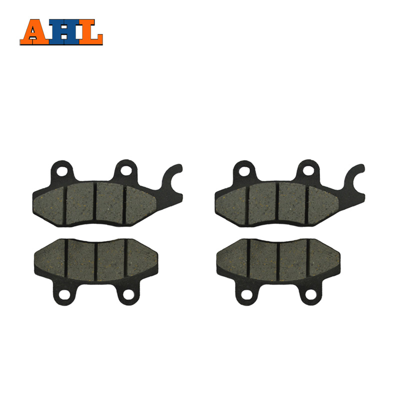 AHL 2 Pairs Motorcycle Front & Rear Brake Pads for KAWASAKI EX 250 Ninja 250 R 2008-2012 EX 300 Ninja 2013-2016 motorcycle front and rear brake pads for kawasaki ex250r ninja250r 2008 2012