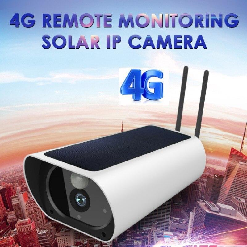 Y9 HD 1080P Solar Powered IP Camera Wireless GSM 4G SIM Card Outdoor Security CCTV Camera