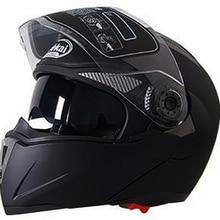 Seguridad moto rcycle Flip Up casco moto rbike con interior sol visera del casco JIEKAI-105 DOT ECE