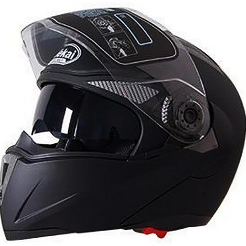 Sicherheit moto rcycle Flip Up Helm moto helm moto rbike Mit Inneren Sonnenblende Helm JIEKAI-105 DOT ECE