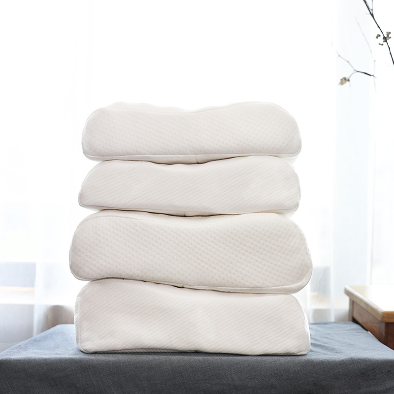 Link Success White Natural Polyester Latex Pillow Memory Foam