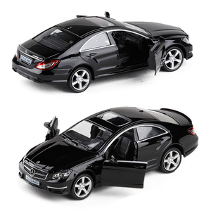 High Simulation Model Cars Diecasts Luxury Alloy Vehicle CLS S600 C63 AMG 1/36 Model Car Collection Toy For Kids V029