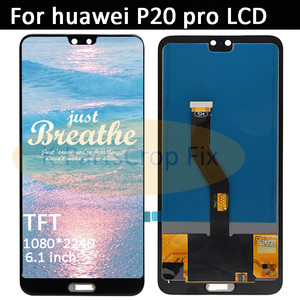 "Image 2 - Tft 6.1 ""lcd huawei 社 P20 プロフレームと lcd の表示画面タッチデジタイザーアセンブリ P20 プロ CLT AL01 l29 液晶 P20 プラスディスプレイ"