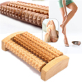 Foot Massage Traditional Wooden Roller Massager Without The Need Electricity Stress Relief Relaxation Health Care Therapy