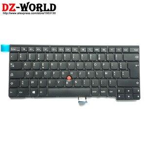 Image 1 - Новая Оригинальная французская Клавиатура FR для Lenovo Thinkpad T440 T450 T460 T440S T450S L440 Франция Teclado 04Y0835 04Y0873 00HW887
