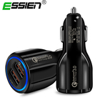 Quick Charge 3.0 Car Charger For iphone Mobile Phone Dual Usb Car Charger Fast Charging Adapter Qualcomm Qc 3.0 Usb Car Charger