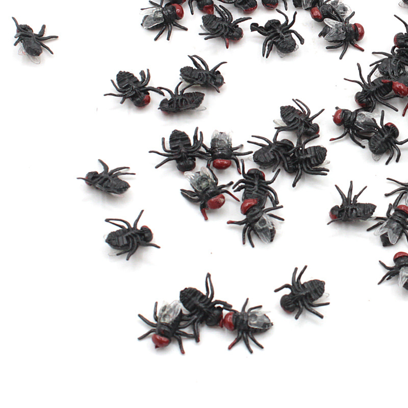 10x Fake Rubber Cockroachs Practical Joke Insects Prop Toy Cockroaches Prank Jok