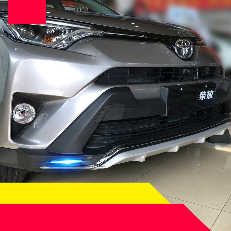 lsrtw2017 abs car bumpers for toyota rav4 2012 2013 2014 2015 2016 2017 2018 xa40