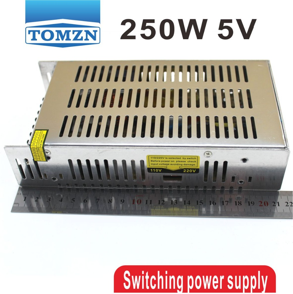 250W 5V 40A Single Output Switching power supply for LED Strip light AC to DC 350w 60v 5 8a single output switching power supply ac to dc for cnc led strip