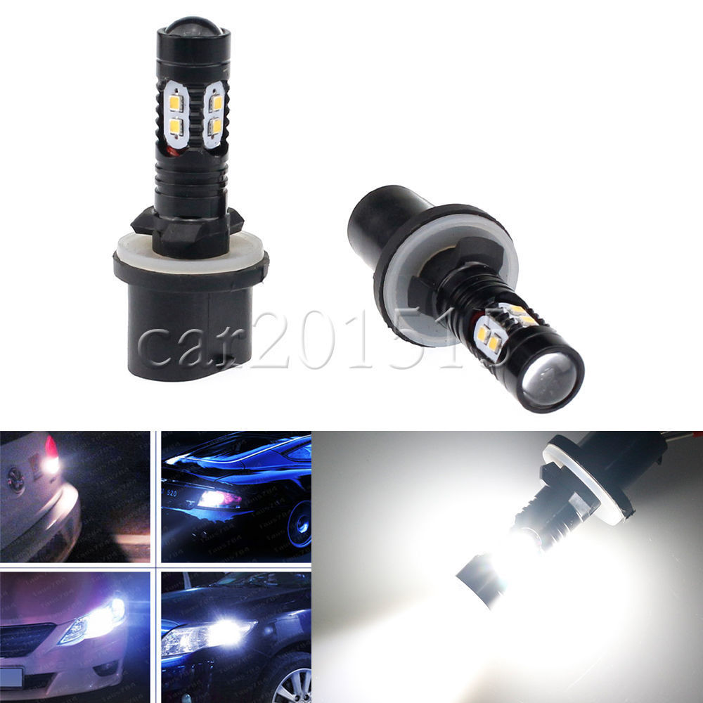 2x 50W <font><b>LED</b></font> <font><b>880</b></font> 892 893 899 Fog Light High Power Driving <font><b>Bulbs</b></font> Ultra White NEW image