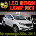 cheetah 6 X Error Free Car LED Vehicle Interior Map Dome Door Light decor Kit Package for kia sportage accessories 2004-2015